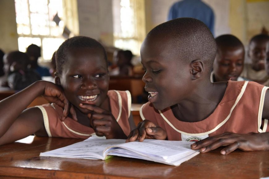 KEEPING THE ORPHANS AND VULNERABLE CHILDREN IN EDUCATION.