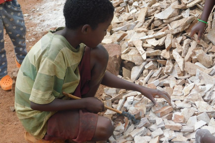 CHILD LABOUR IN AFRICA.
